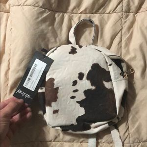 Nasty gal Mini Cow Backpack